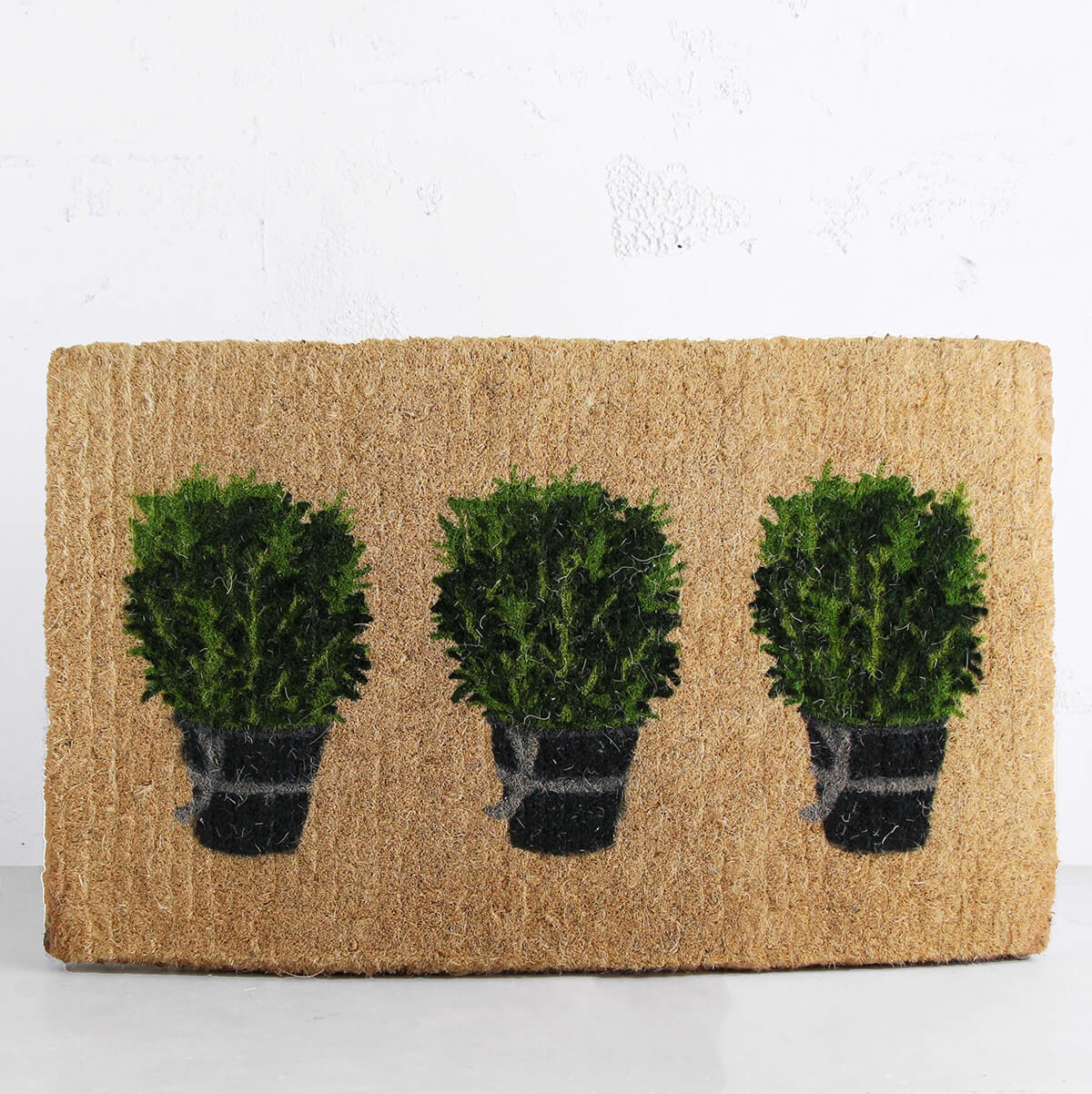 ROSEMARY POT DOOR MAT