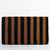 BLACK + NATURAL STRIPE DOOR MAT | LARGE SIZE | 76CM x 46CM