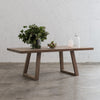 DALTON SCANDI LEG RECLAIMED TEAK INDOOR DINING TABLE  |  2.2M  |  2.6M  |  3M