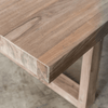 DALTON SCANDI LEG TEAK DINING TABLE  |  TIMBER DINING TABLE