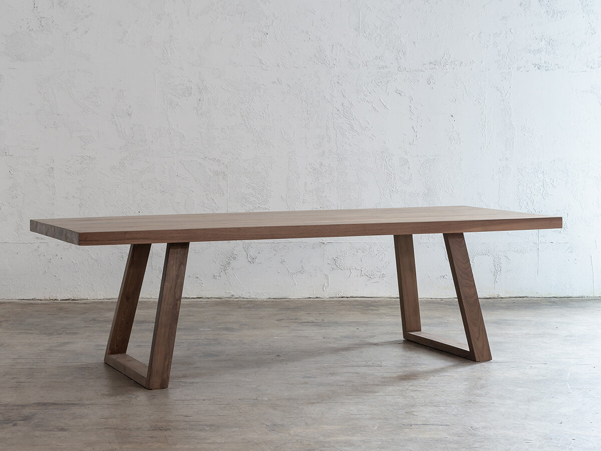 DALTON SCANDI LEG TEAK DINING TABLE  |  2.6M