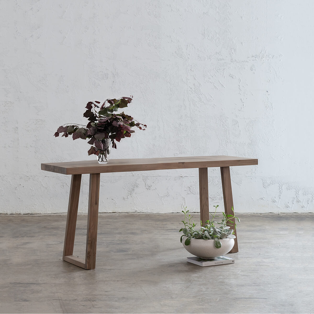 DALTON SCANDI LEG HALL TABLE |  RECYCLED TEAK CONSOLE |  SIDEBOARD