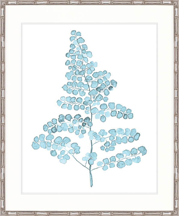 DESIGNER BOYS ART  |  PALE BLUE FOLIAGE III  |  PRINTED ARTWORK