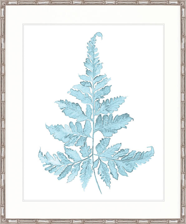 DESIGNER BOYS ART  |  PALE BLUE FOLIAGE II  |  PRINTED ARTWORK