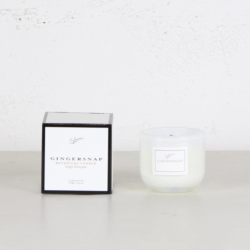 SOHUM  MID CANDLETTE  |  GLASS CANDLE  |  GINGERSNAP