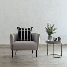 HAYDEN TUB CHAIR  |  COBBLESTONE ASH WEAVE  |  OCASSIONAL LOUNGE CHAIR