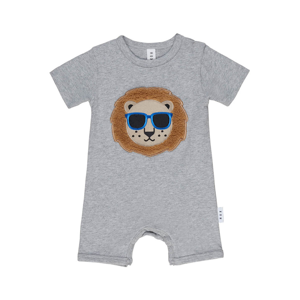Huxbaby Cool Lion Short Romper