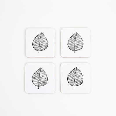 MY HYGGE HOME  |  LUSH LEAF DELUXE COASTERS  |  SET OF 4