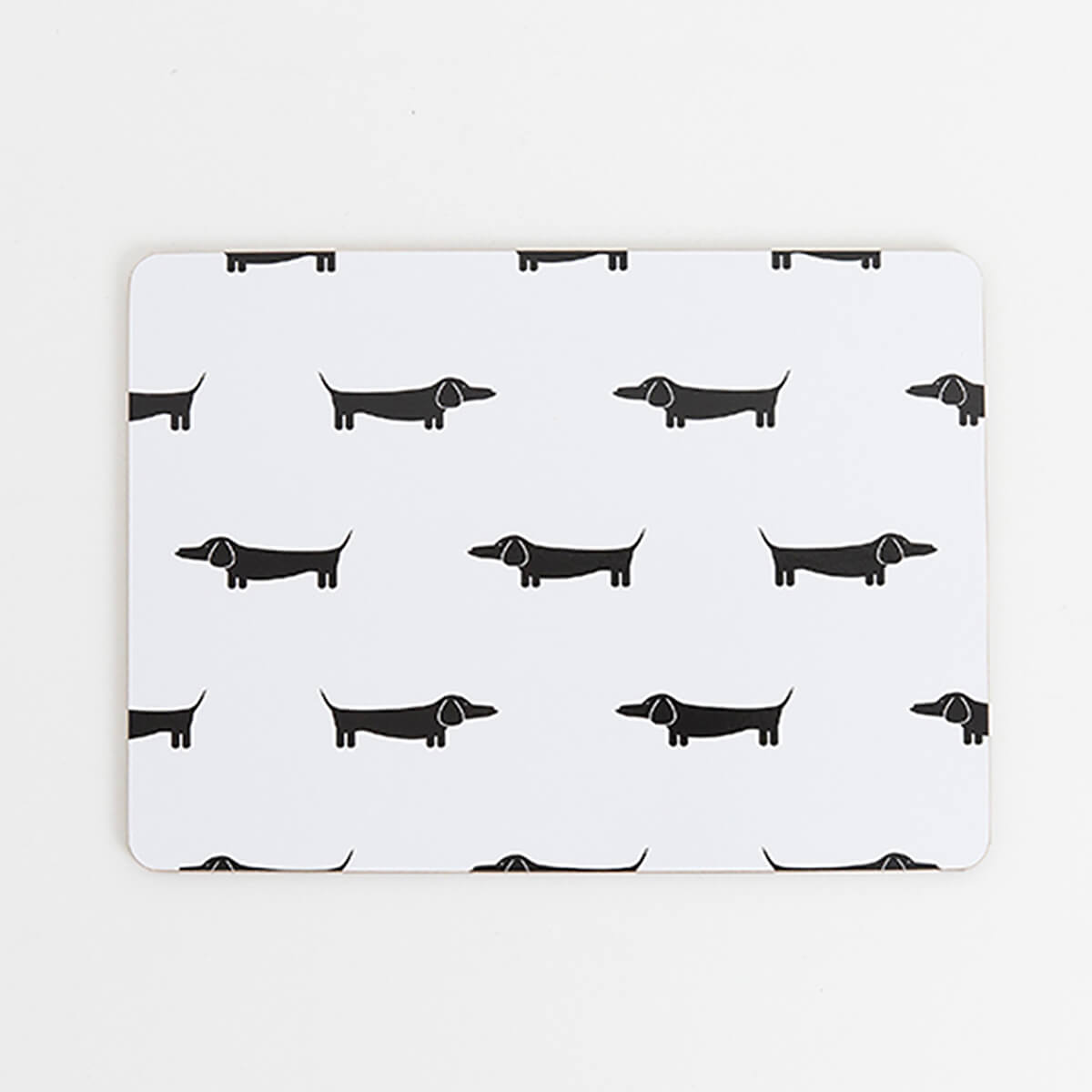MY HYGGE HOME  |  DAPPER DACHSHUND DELUXE PLACEMATS  |  SET OF 4