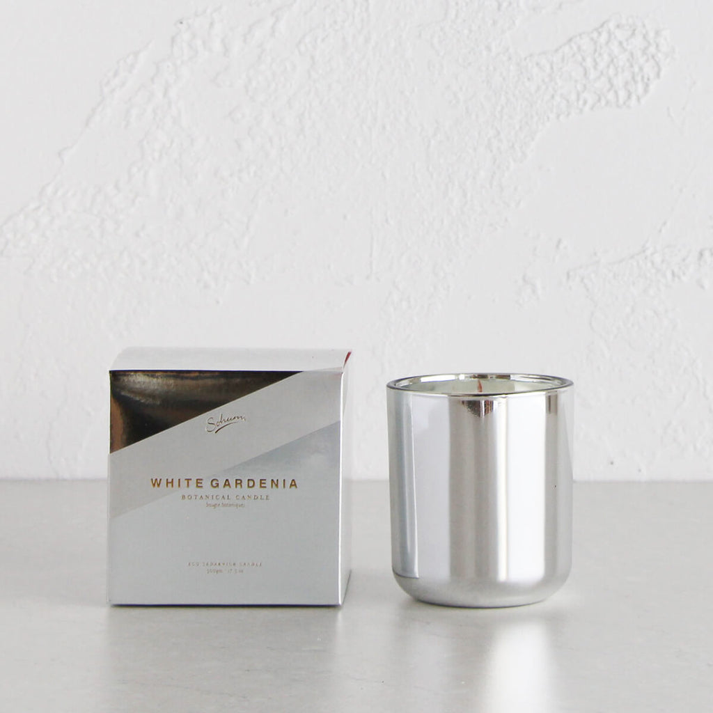 SOHUM WHITE GARDENIA CANDLE | XMAS LTD EDITION