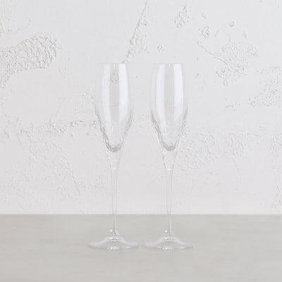 WEDGEWOOD  |  VERA WANG SEQUIN CHAMPAGNE FLUTE  |  SET OF 2