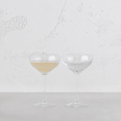 WEDGEWOOD  |  VERA WANG SEQUIN CHAMPAGNE SAUCER  |  SET OF 2