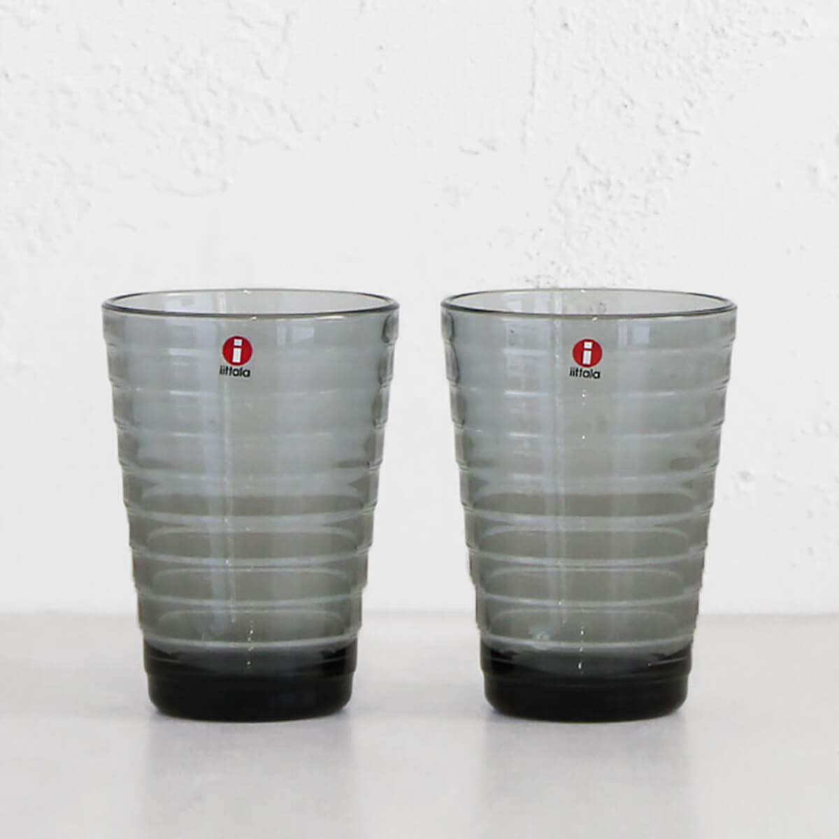 IITTALA  |  AINO AALTO HIGH BALL GLASS GREY  |  TRENDY GLASSWARE