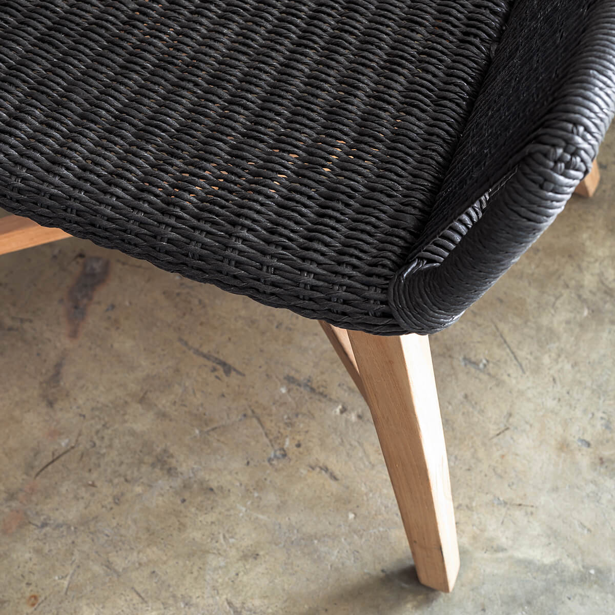 Inizia Woven Rattan Outdoor Chair Indoor Bar Chair Hamptons Bar Stool Living By Design