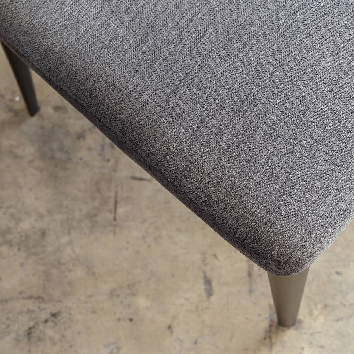 JAKOB DINING CHAIR  |  HERRING GREY LUXE TWILL
