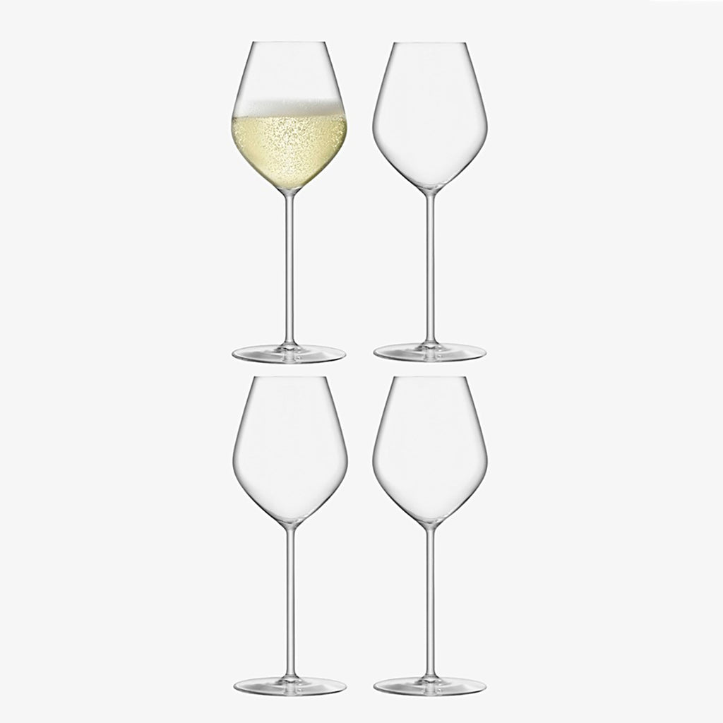 LSA Borough Tulip Champagne Flutes