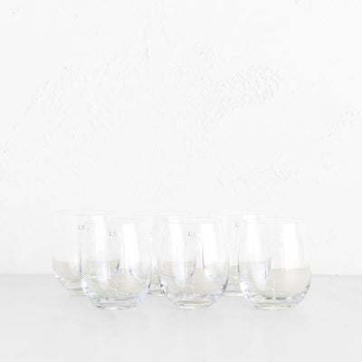LSA RIO BALLOON WHITE WINE / WATER  |  SET OF 6