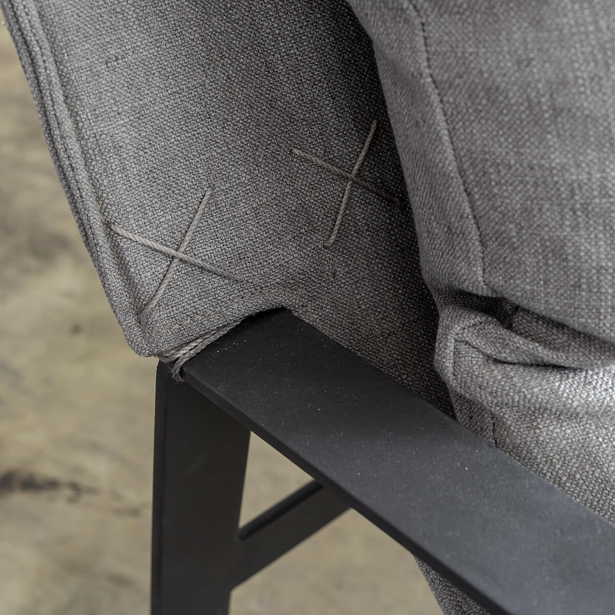 PRE ORDER  |  LAURENT ARM CHAIR  |  ANCHOR GREY