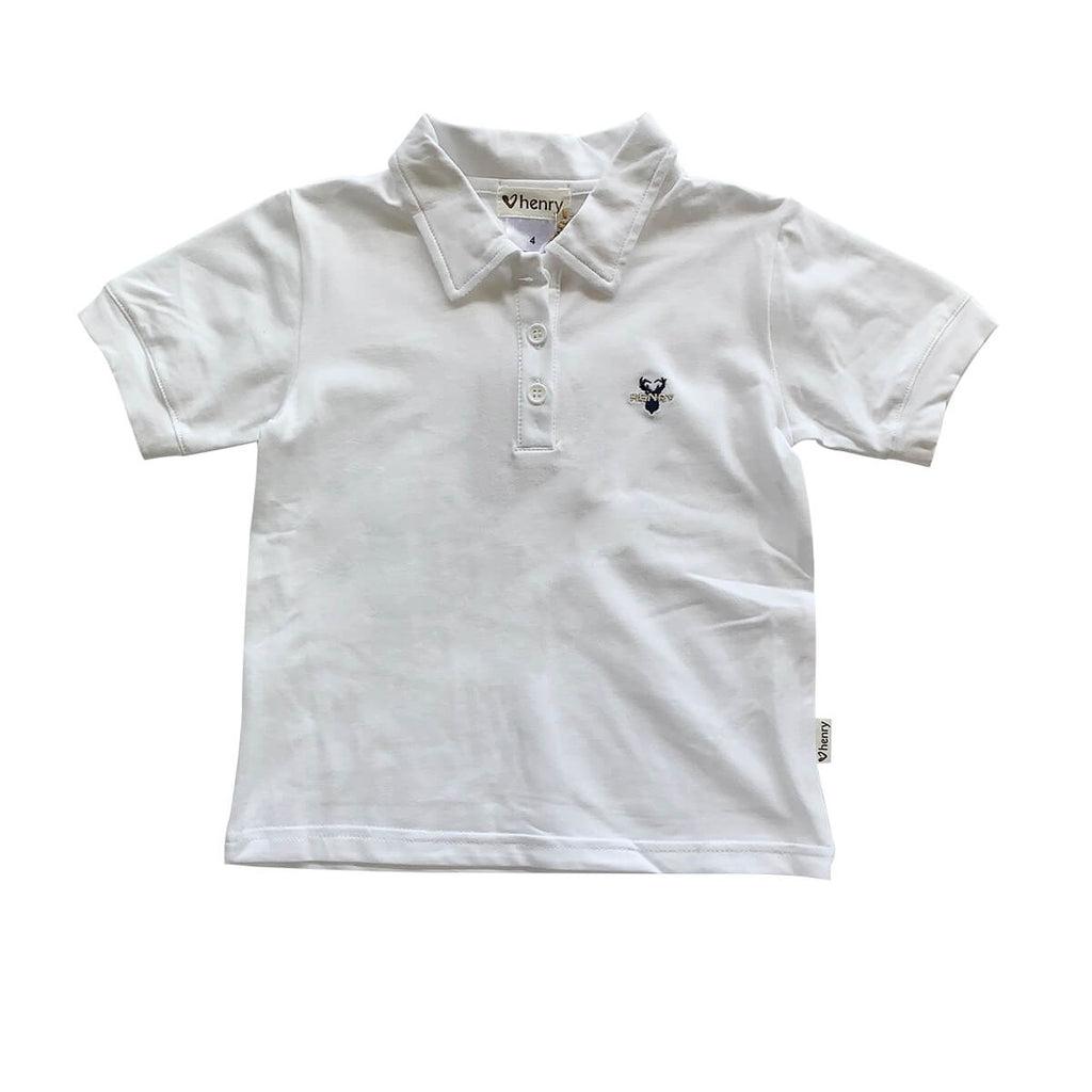 LOVE HENRY  |  POLO SHIRT  |  WHITE