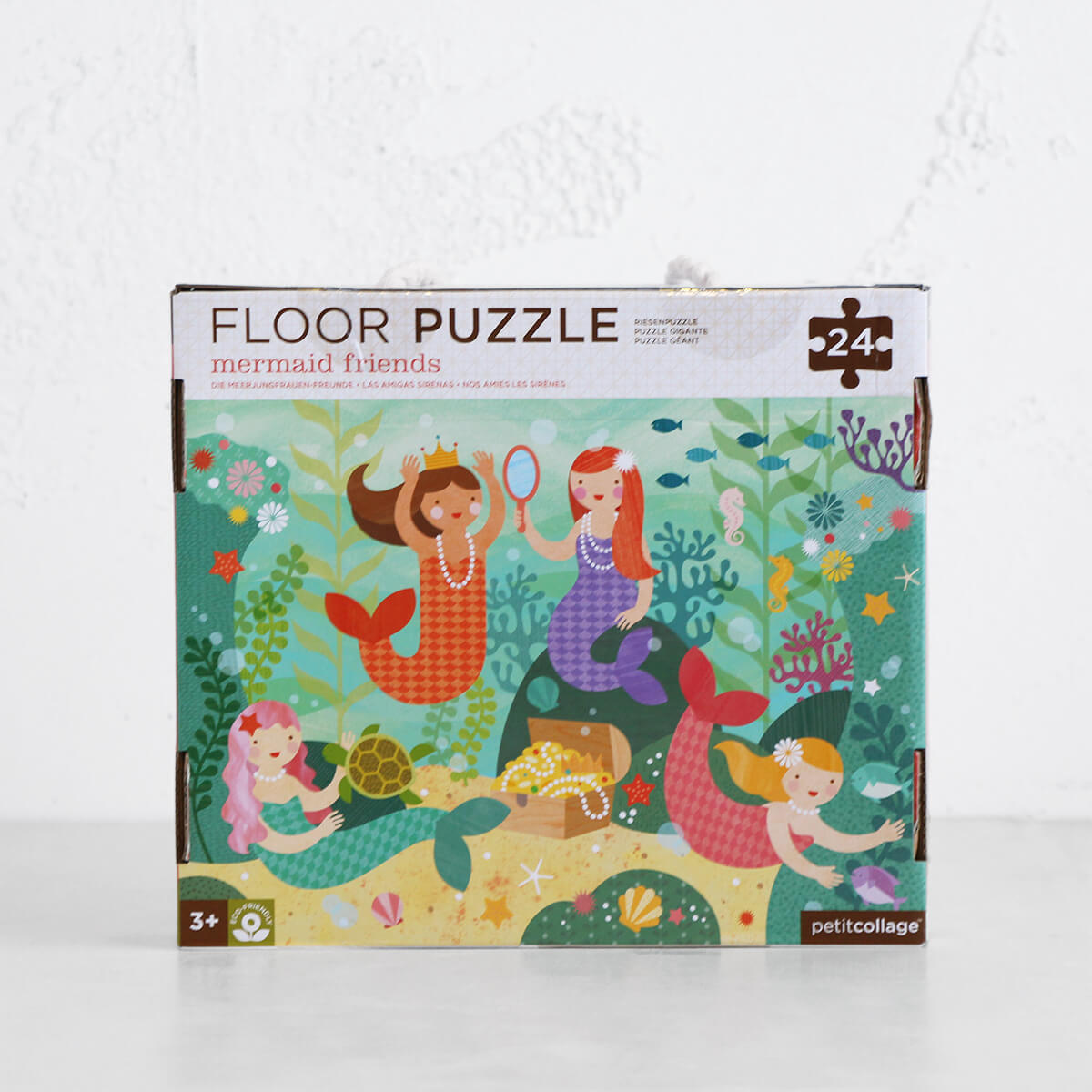 MERMAID FRIENDS FLOOR PUZZLE