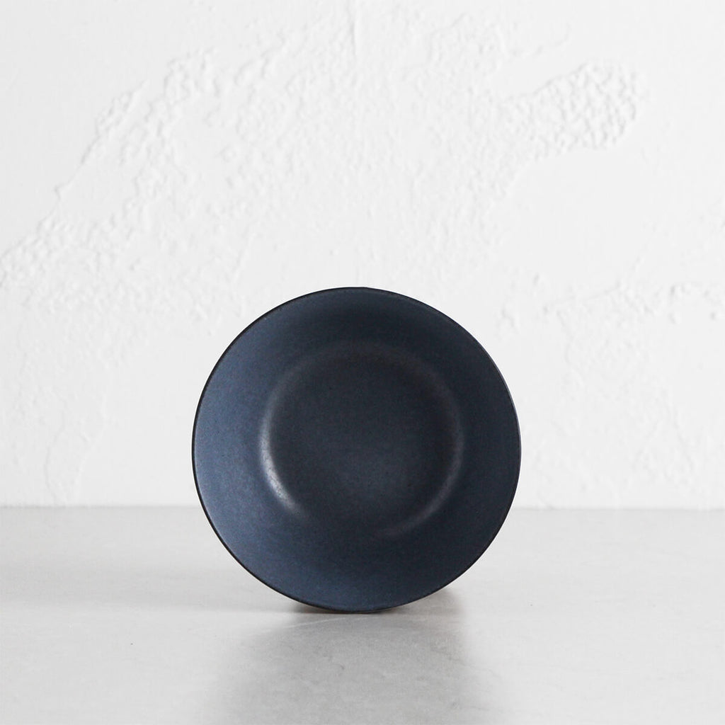 MALTA CERAMIC BOWL | DENIM BLUE  |  CERAMIC STONEWARE