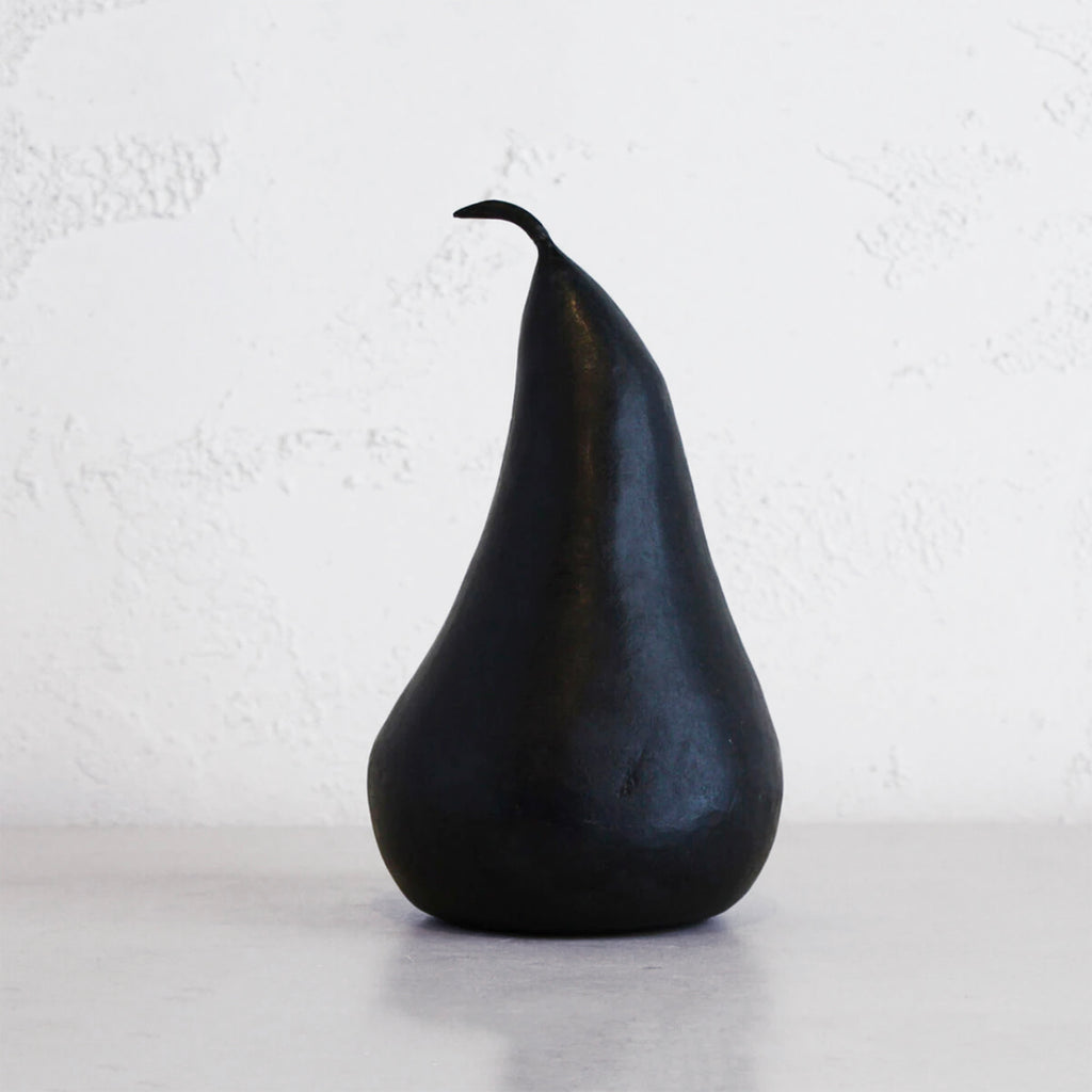 MARBLE PEAR  |  BLACK  |  EXTRA LARGE