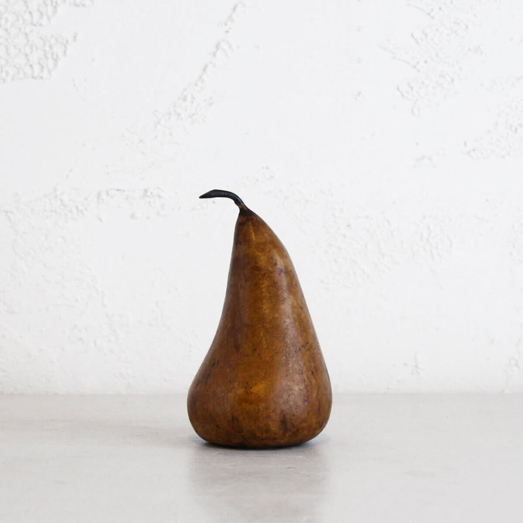 MARBLE PEARS  |  CLASSIC DECORATION ITEMS COPPER