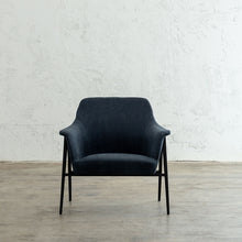 MARCUS ARM CHAIR  |  BALTIC BLUE  |  MODERN OCCASIONAL CHAIR  | LOUNGE CHAIR UNSTYLED