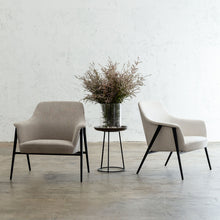 MARCUS ARM CHAIR  |  UPHOLSTERED ARM CHAIR