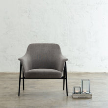 MARCUS ARM CHAIR  |  SILVER GREY  |  MODERN OCCASIONAL CHAIR  | LOUNGE CHAIR