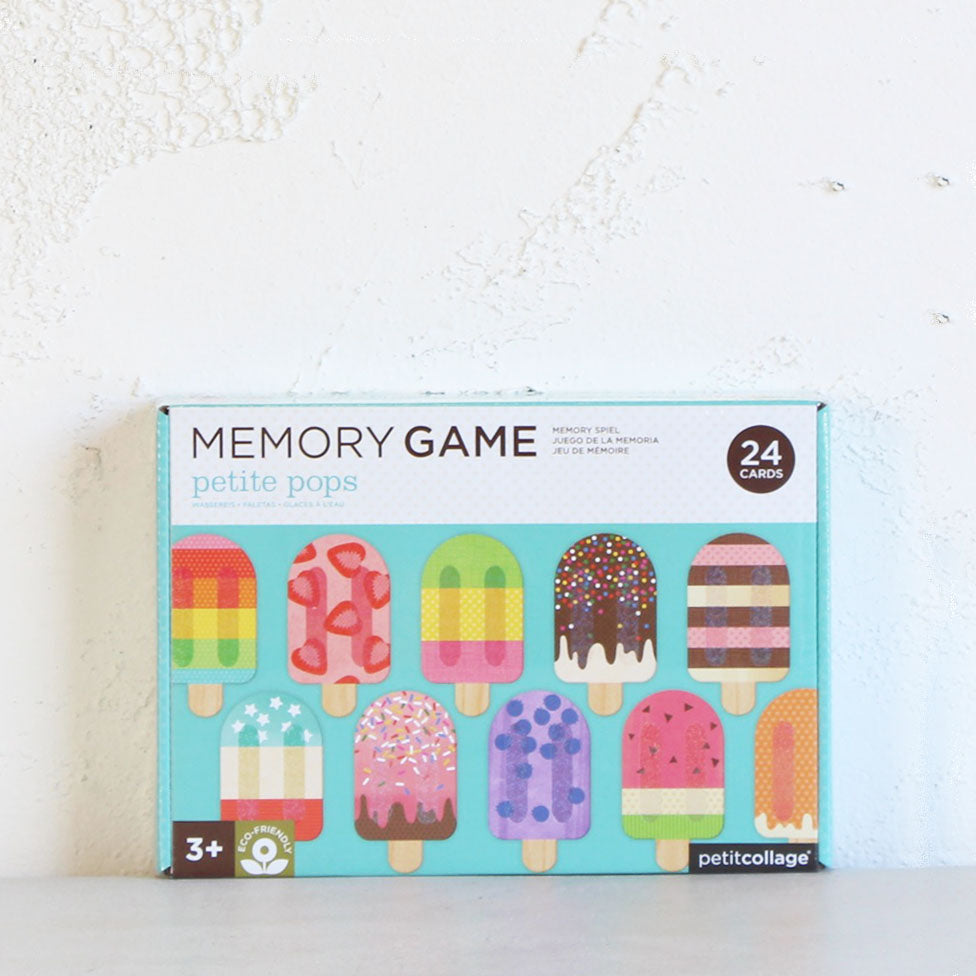 MEMORY GAME  |  PETITE POPS  |  EARLY LEARNING ACTIVITY