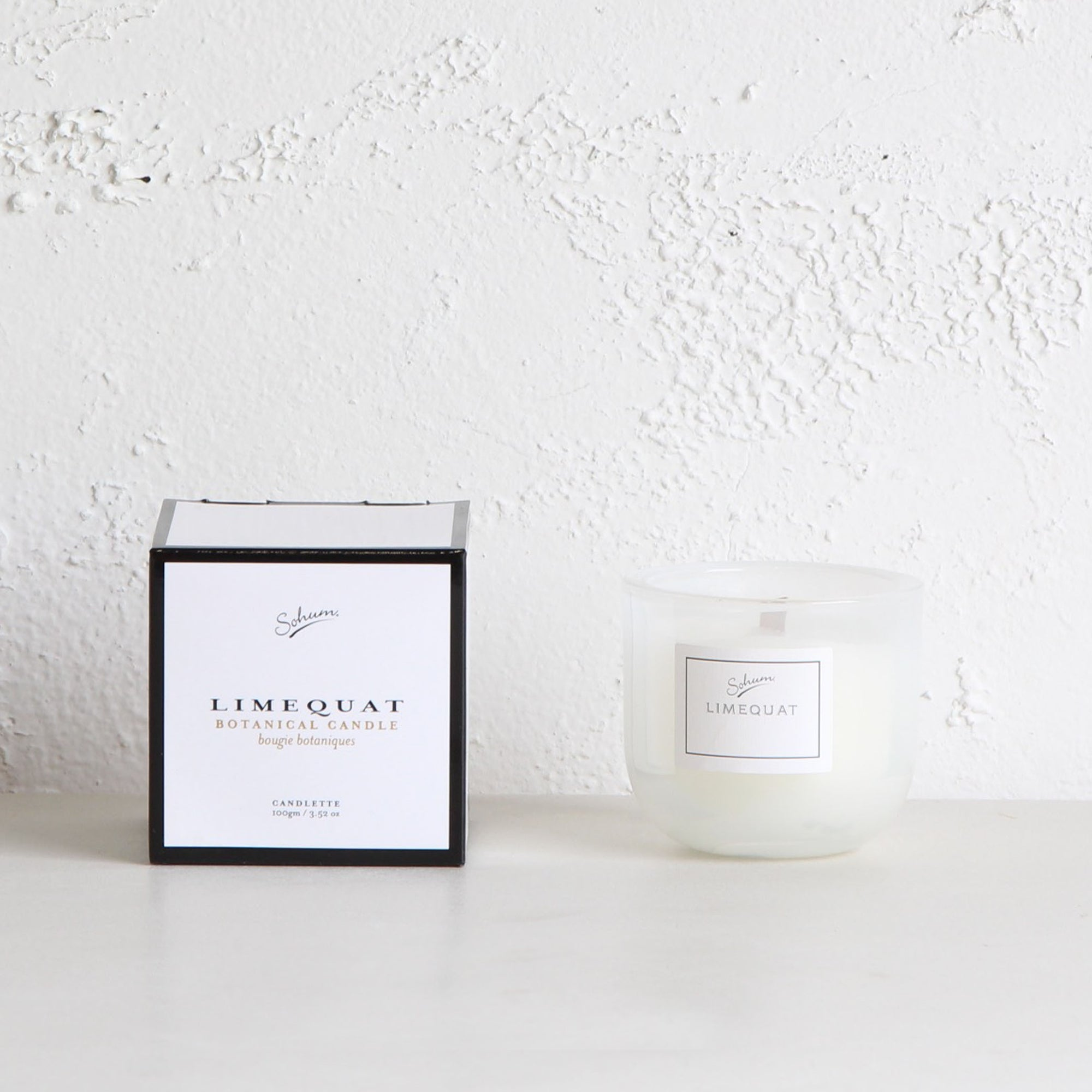 SOHUM BOTANICAL WAX MID CANDLETTE  |  LIMEQUAT