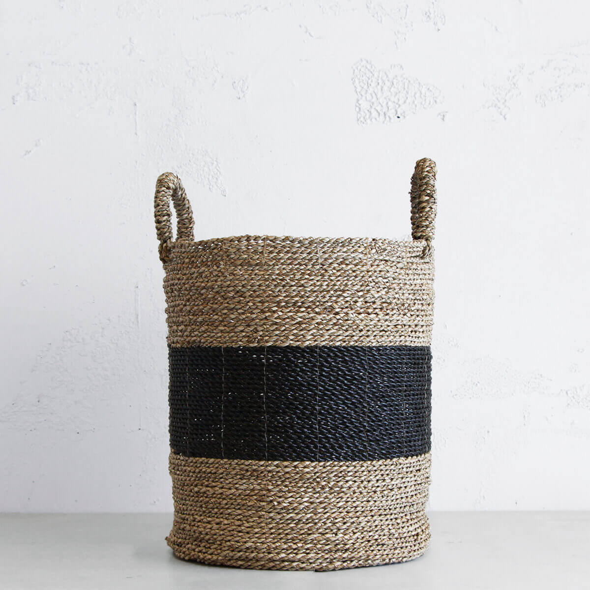 NATURAL SEAGRASS BASKET | STORAGE BASKET  |  TOY BASKET |  POT PLANT HOLDER