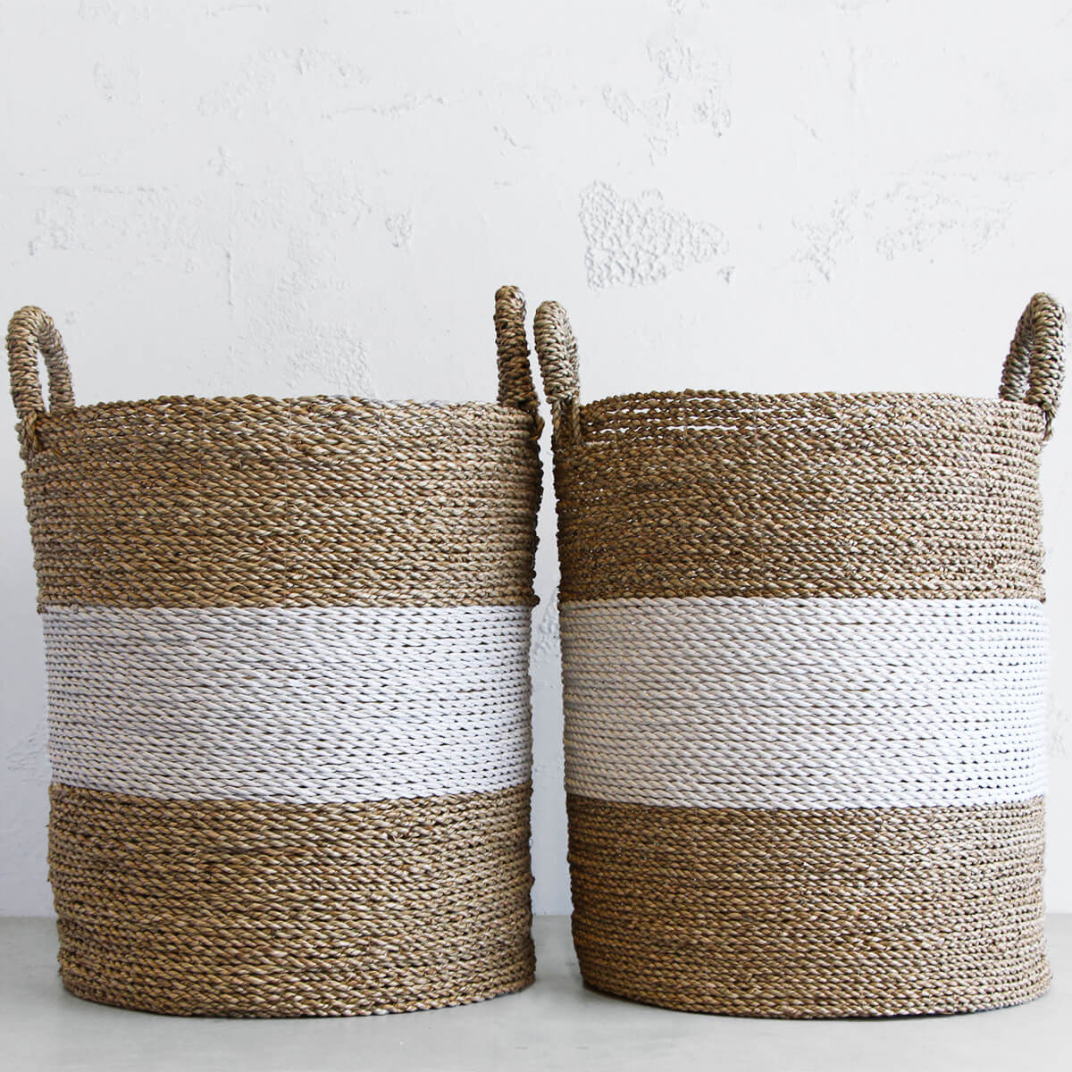 BASKET FOR HOME  |  PLANT HOLDER  |  TOY BASKET  | NATURAL SEAGRASS BASKET