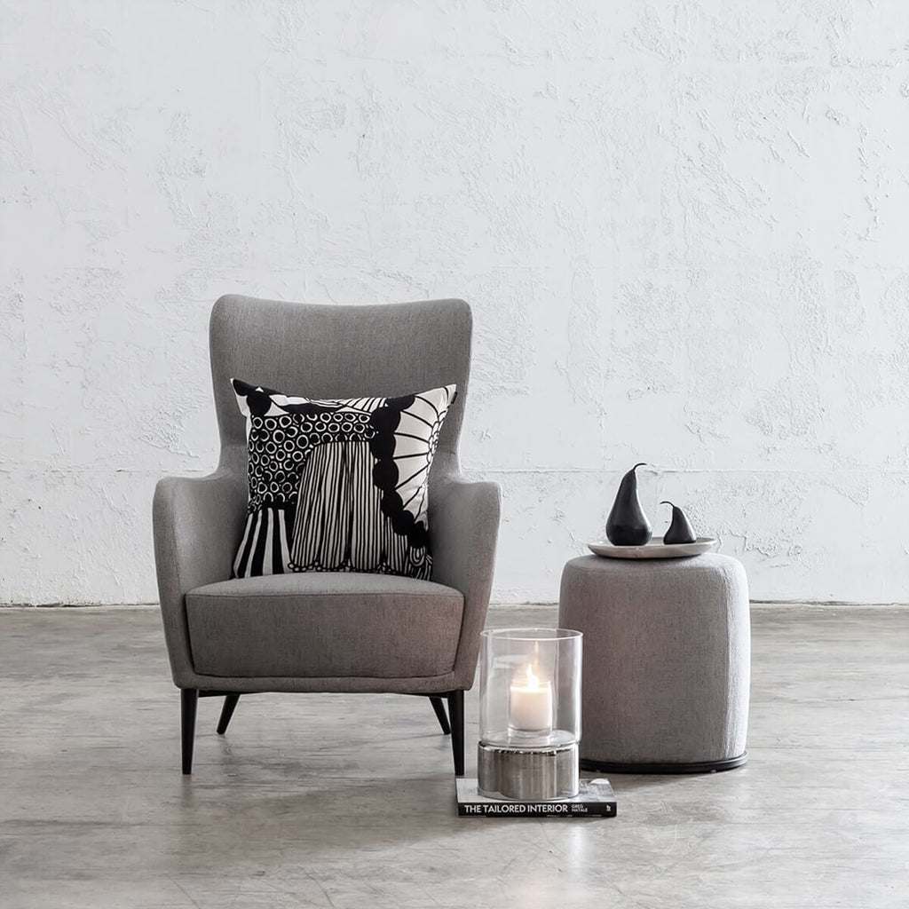 NEIMAN ARM CHAIR  |  SILVER GREY