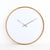 ONE SIX EIGHT LONDON  |  FREYA WALL CLOCK  |  WHITE & WOOD  |  50CM