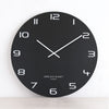 ONE SIX EIGHT LONDON  |  NERO WALL CLOCK  |  BLACK | 60CM