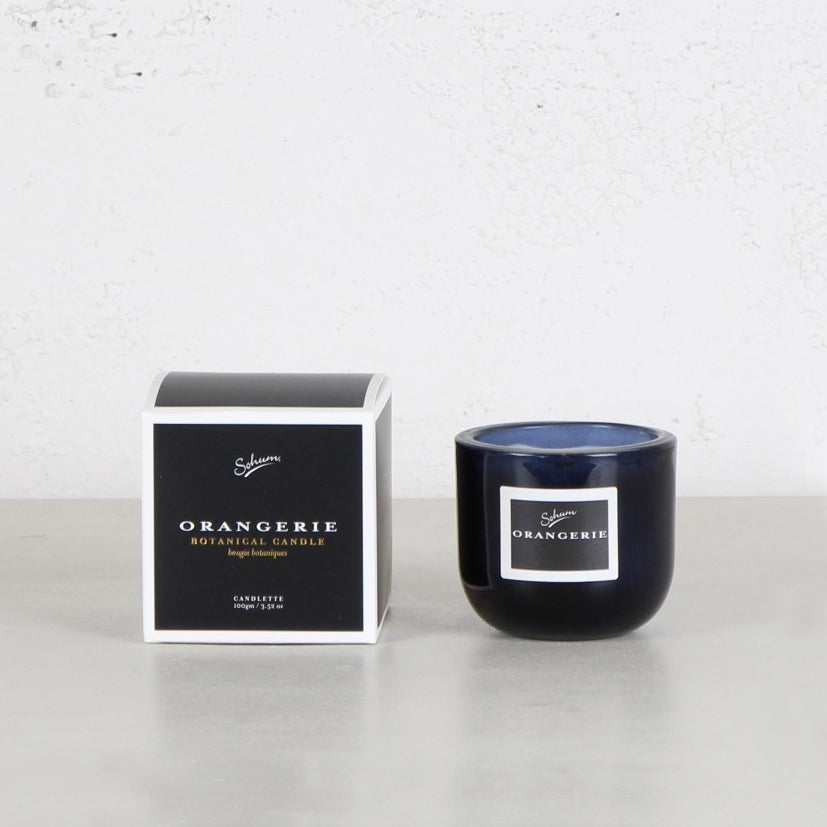 SOHUM MID CANDLETTE  |  GLASS CANDLE  |  ORANGERIE