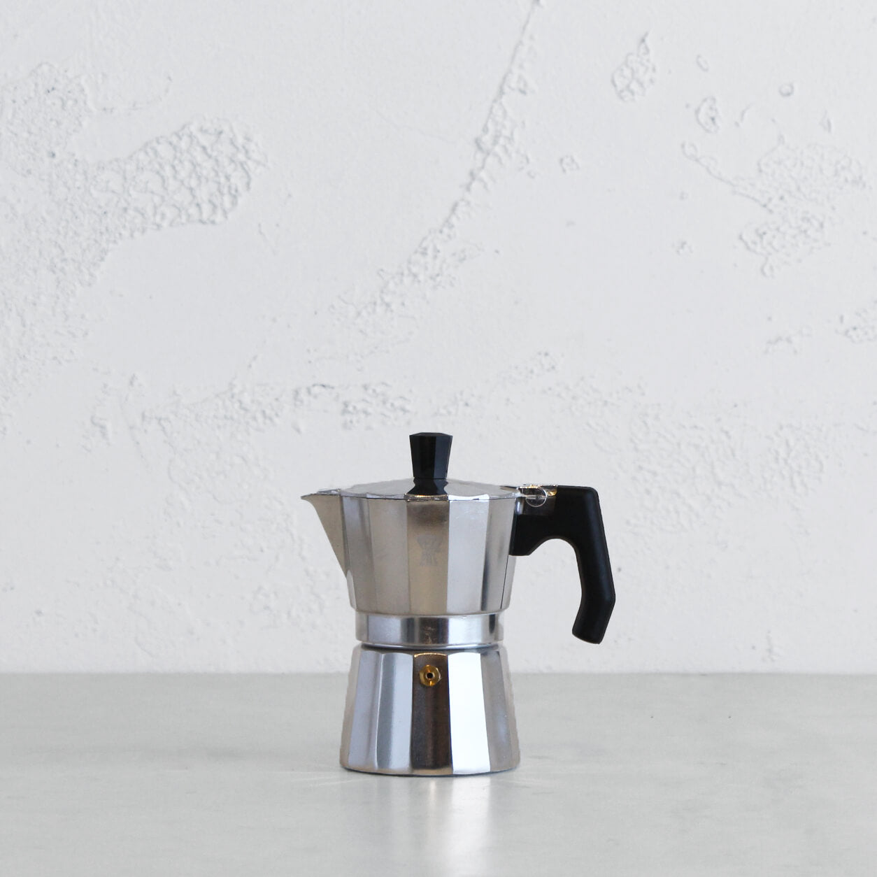 PEZZETTI LUXEXPRESS ITALIAN COFFEE MAKER  |  3 CUP  | STEEL