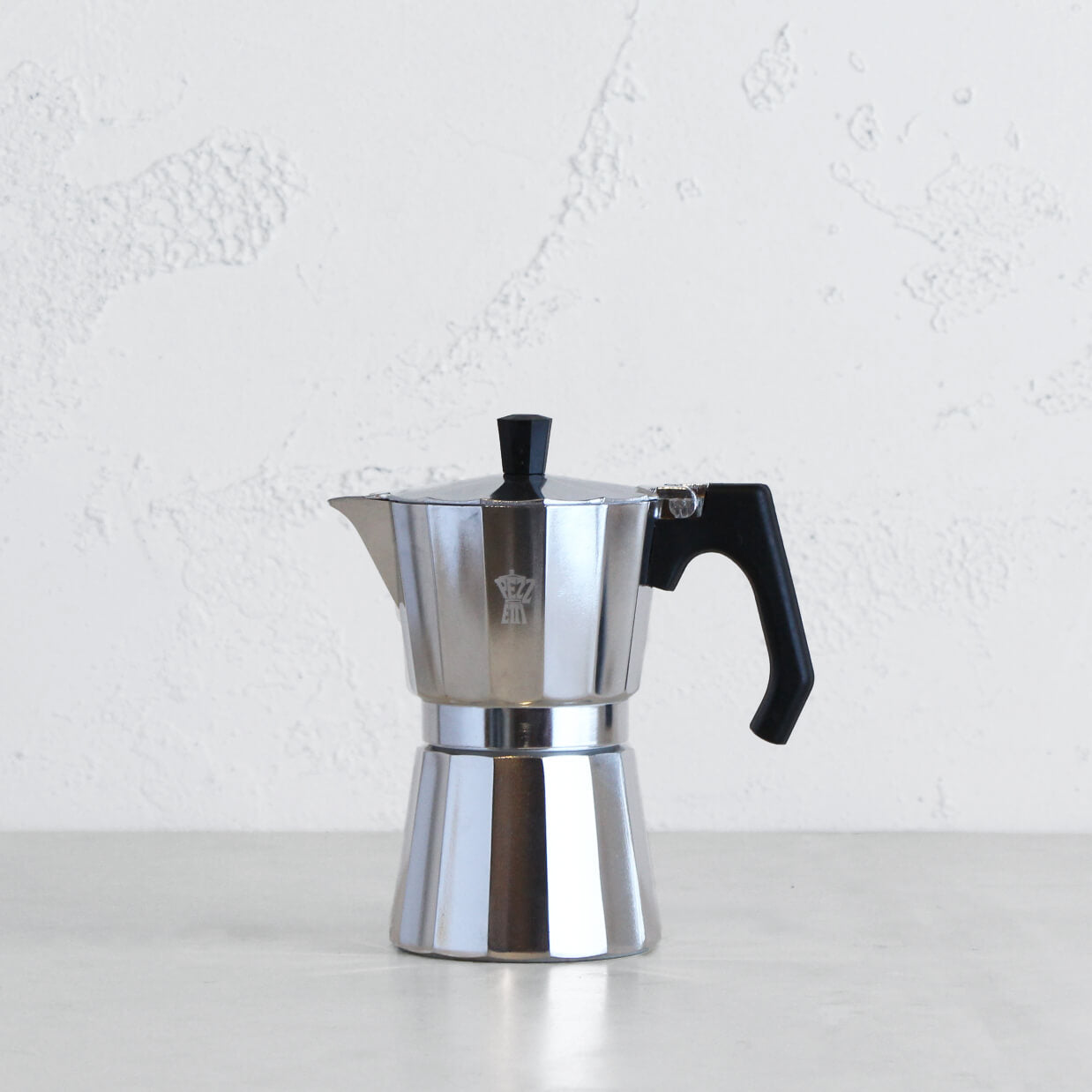 PEZZETTI LUXEXPRESS ITALIAN COFFEE MAKER  |  6 CUP  |  STEEL