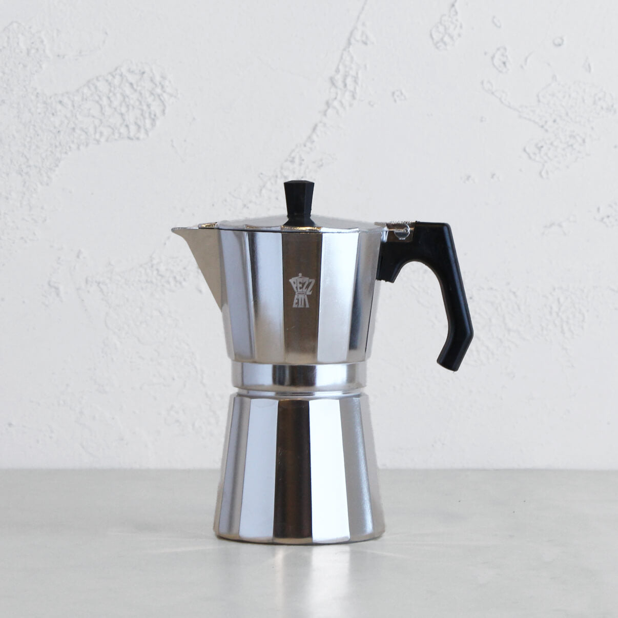 PEZZETTI LUXEXPRESS ITALIAN COFFEE MAKER  |  9 CUP  |  STEEL