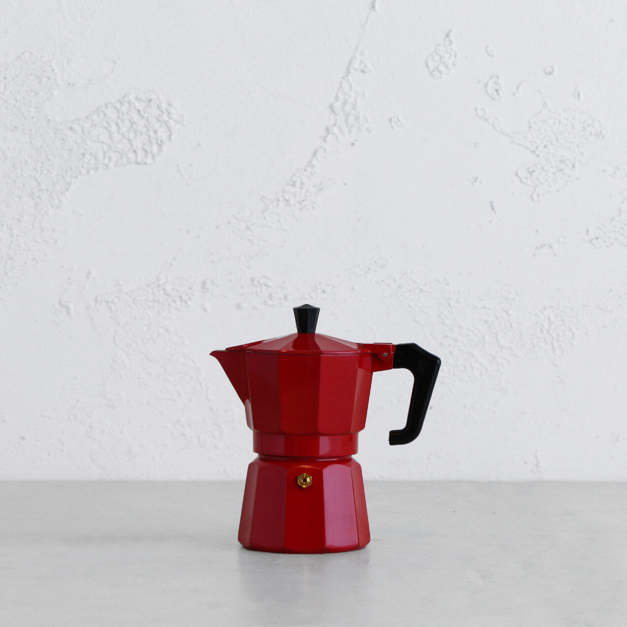 PEZZETTI ITALEXPRESS COFFEE MAKER  |  3 CUP  |  RED