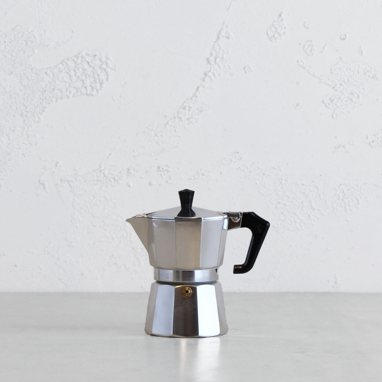 PEZZETTI ITALEXPRESS ITALIAN COFFEE MAKER  |  3 CUP  |  STEEL