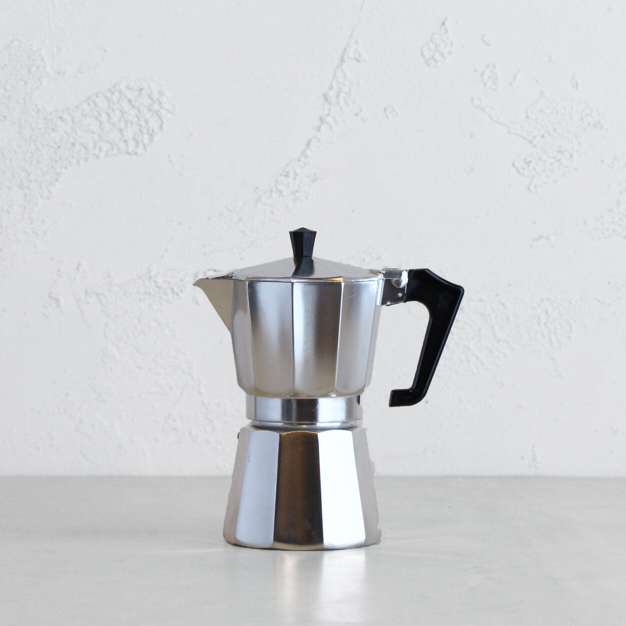 PEZZETTI ITALEXPRESS ITALIAN COFFEE MAKER  |  6 CUP  |  STEEL