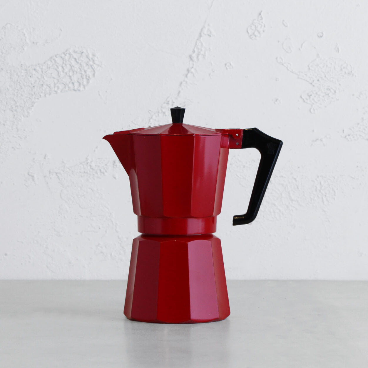 PEZZETTI ITALEXPRESS ITALIAN COFFEE MAKER | 9 CUP | RED