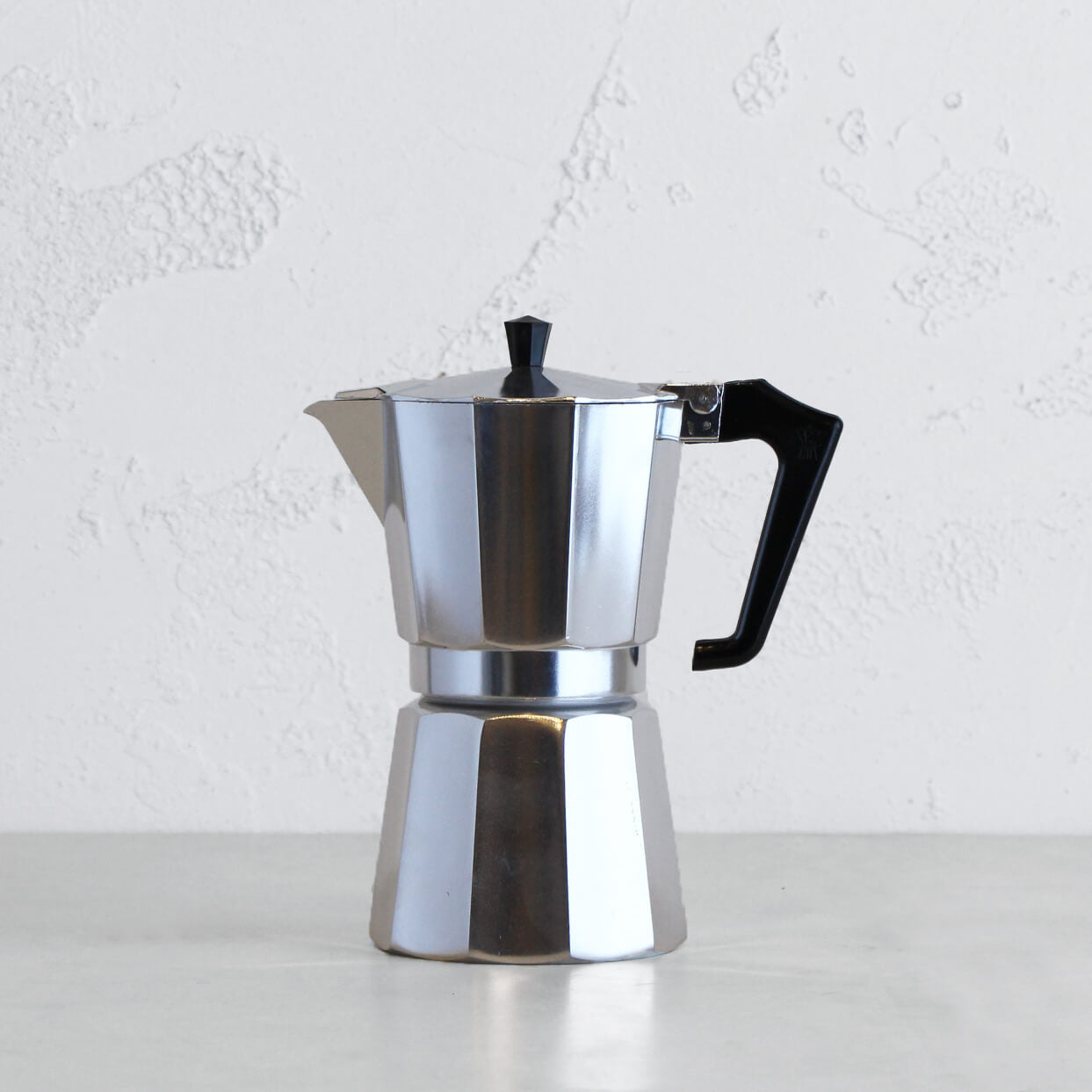 PEZZETTI ITALEXPRESS ITALIAN COFFEE MAKER  |  9 CUP  |  STEEL