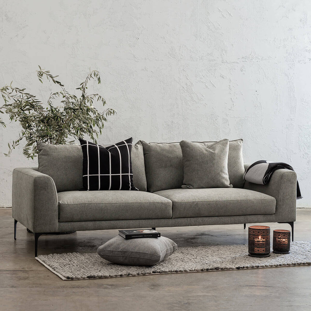 PILOTTI 3 SEATER SOFA | GREYTHORN SHADOW