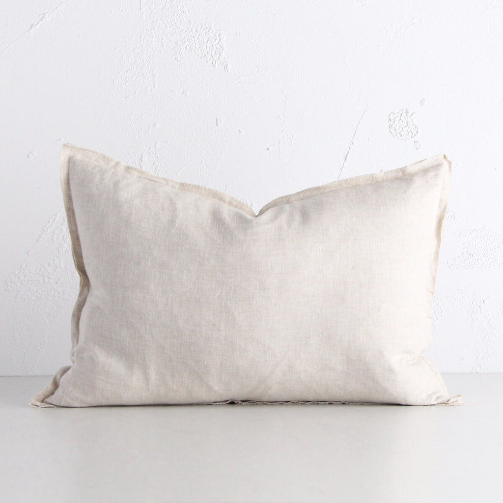 PROVENCE FRENCH LINEN CUSHION | 40 x 60 | NATURAL