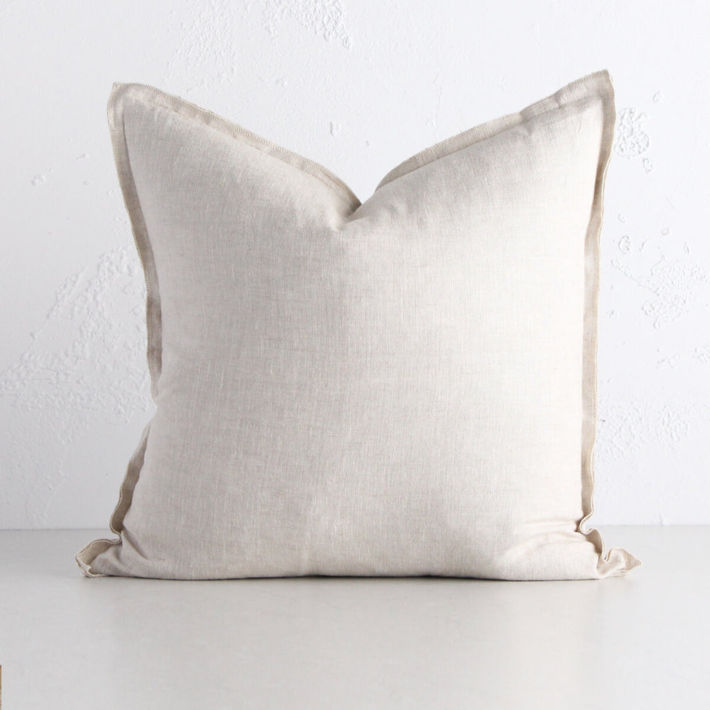 PROVENCE FRENCH LINEN CUSHION | 50 x 50 | NATURAL