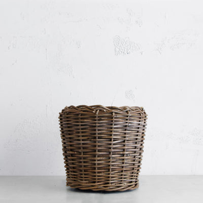 RATTAN POT WITH TUB  |  DRY POT   |  SMALL